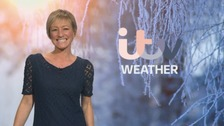 Wales Weather: Sunshine and wintry showers!