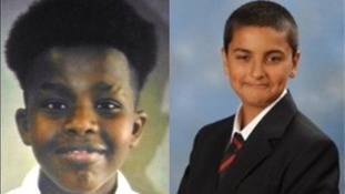 Police are trying to locate Guled Ahmed, 13, and Karim Daniels, 16.