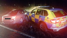 Police car chase in Carlisle ends with three men arrested