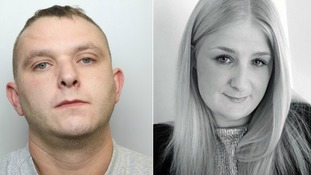 Jordan Thackray (L) was jailed for life at Bradford Crown Court on Friday for murdering his partner Jessica King (R)
