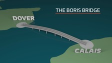 Kent to Calais: 'Boris Bridge' proposal met with mixed response