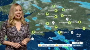 Saturday's weather for the west