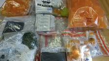 A 21-year-old man from Prescot was arrested on suspicion of possession with intent to supply a class B drug