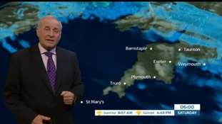 Weather: Some sun and rain on Sunday