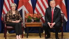 May to meet Trump for talks at World Economic Forum