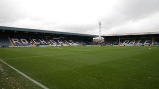 Rochdale's Spotland stadium.
