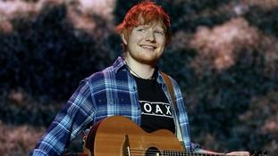 Ed Sheeran has announced his engagement.