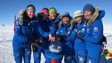 Welsh soldier part of first all-female team to cross Antarctica unpowered