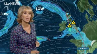 Snow & ice warning for Sunday, here's Emma with the details