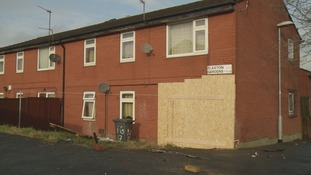 The car crashed into the house in Beeston