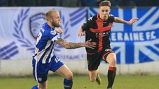 Irish Premiership: Coleraine draws with Crusaders