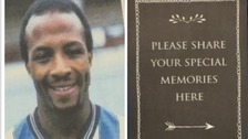 Thousands of football fans honour Cyrille Regis