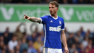 Joe Garner equalised for Ipswich Town at Bolton.