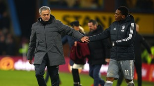 Anthony Martial's third goal in three games earned Manchester United an important win away to a resolute Burnley side