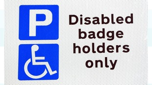 A blue badge enables permit holders to park free of charge in pay and display bays