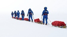 British soldiers break Antarctica crossing record