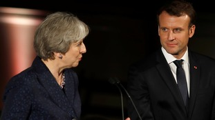 Emmanuel Macron said the UK could have it's 'own solution' but cannot 'cherry-pick' between models.