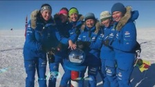 Sandhurst Ice Maidens break Antarctic record