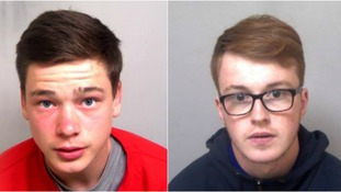 Ben Goodspeed (left) and Tate Heeney (right) are wanted by police.