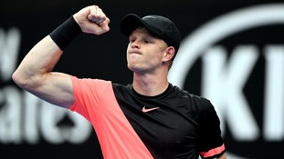 Kyle Edmund powered past Andreas Seppi to reach his first ever Grand Slam quarter-final at the Australian Open
