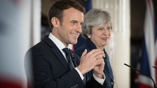 France's Macron says the UK can have a bespoke Brexit deal