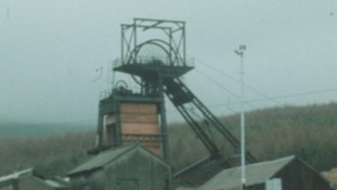 Caerau Colliery around the time of closure in 1979