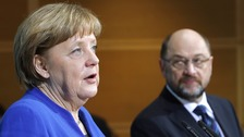 Breakthrough for Angela Merkel in coalition talks