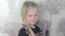 Police name girl, 8, stabbed to death in 'domestic incident'