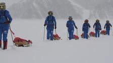 Blaydon 'Ice Maiden' celebrates Antarctica ski record