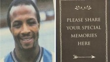 World of football pays tribute to footballing legend