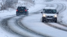 Motorists warned over icy roads after weekend snow