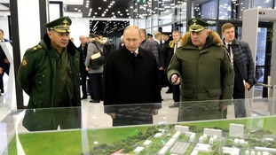 Russian President Vladimir Putin visited a Russian Academy of Strategic Rocket Troops in December.