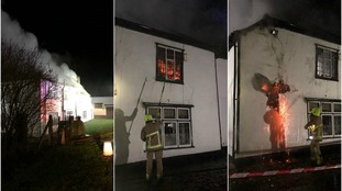 Dogs killed and listed building damaged in Essex fire