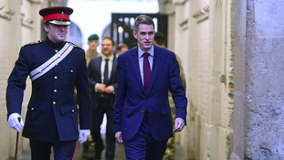 Defence Secretary Gavin Williamson is seeking to put pressure on the Treasury for more funding.