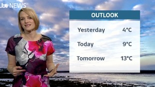 Monday's weather with Kerrie