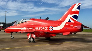 The plane involved in the death of RAF Flight Lieutenant Sean Cunningham, who was killed after being ejected from the cockpit whilst still on the ground at RAF Scampton in Lincolnshire in 2011.