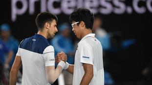 Inspired Chung Hyeon beats Djokovic in straight sets at Australian Open