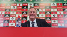 Michael O'Neill will stay on as Northern Ireland boss.