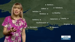 Holly's latest forecast for west of region