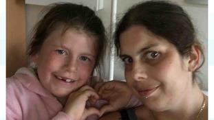 Kirsty Robson with her daughter Lauren