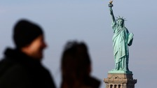 What landmarks are affected by the US government shutdown?