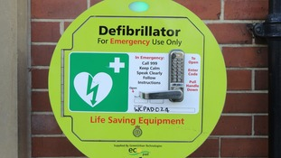 In a separate incident, a defibrillator was vandalised in Gosforth, Cumbria