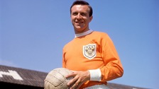 Jimmy Armfield was a world cup winner and Blackpool great
