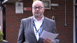 Headteacher Andy Nicholls at St James Primary School.