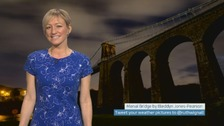 Wales Weather: Dry to start the night!