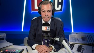 Nigel Farage interviewed Henry Bolton on his LBC radio show.