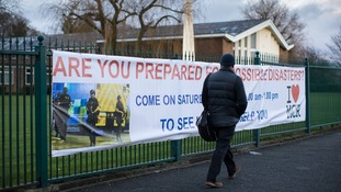Church removes 'insensitive' banner featuring Manchester terror attack after survivor complained