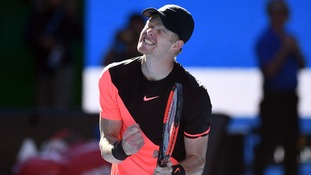 Kyle Edmund has reached the Australian Open semi-final.