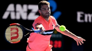 Grigor Dimitrov was seeded third in the tournament.