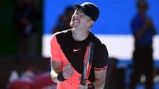 Yorkshire's Kyle Edmund reaches Australian Open semi-final